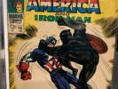 Marvel- Tales of Suspense #98, FN, Captain America Meets Black Panther
