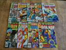 Iron Man #120 121 122 123 124 125 126 127 129 (Marvel, 1979) Lot of 9