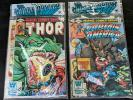 LOT 2 Marvel Comics 3 pack SEALED UNOPENED Captain America 248 Thor Iron Man 137