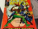 CAPTAIN AMERICA # 118  VG  KEY 2ND APPEARANCE OF THE FALCON  OCT 1969