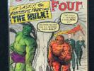Fantastic Four 12, 1962, first Hulk & Fantastic Four crossover, high grade 7.0