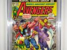 1 1974 Avengers #122 CGC 9.0 Marvel Black Panther Thor Iron Man Hulk X-Men Wasp