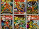 POWER OF WARLOCK #1-#15 MARVEL PREMIERE #1 & #2 STRANGE TALES #178 #179 #181
