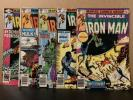 Iron Man 130 131 132 133 137 Marvel Comics Combine Shipping