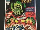FANTASTIC FOUR #49, MARVEL 1966, VG+ CONDITION, FIRST SILVER SURFER COVER APP.