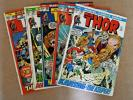 Marvel Comics 1972 The Mighty Thor #196 197 198 199 200   5 Book Lot   Fine +
