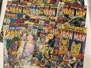 Invincible Iron Man 60s 70s Lot  6 70 76 77 78 80 82 97 105 101 108 114 137 139