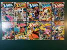 Nice lot of 10 Uncanny X-Men 110 111 112 113 114 115 116 117 118 119 Mostly high