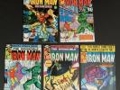 INVINCIBLE IRON MAN #134, 135, 136, 137 & 138 1ST ENDOTHERM MARVEL COMICS