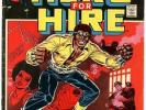 LUKE CAGE HERO FOR HIRE 1 MARVEL BRONZE ORIGIN KEY ISSUE 1972 GEORGE TUSKA BIN