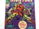 Iron Man #1 FN condition Free shipping on orders over $100.00