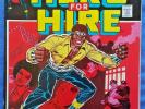 LUKE CAGE Hero for Hire #1, 1972 Marvel, LUKE CAGE ORIGIN ISSUE VF-