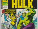 ?MIGHTY WORLD OF MARVEL # 198 VF  1ST WOLVERINE INCREDIBLE HULK # 181 UK 1976?
