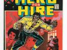 Hero For Hire #1 FN+ Key Issue Origin & 1st App. Luke Cage Power Man Marvel 1972