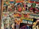 32 x The Invincible Iron Man Comic Lot, #86, 108  122 -125, 127-145, 147-154,156