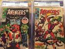 Avengers #55 Cgc 6.0